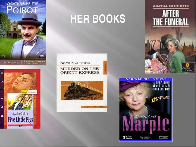 HER BOOKS
