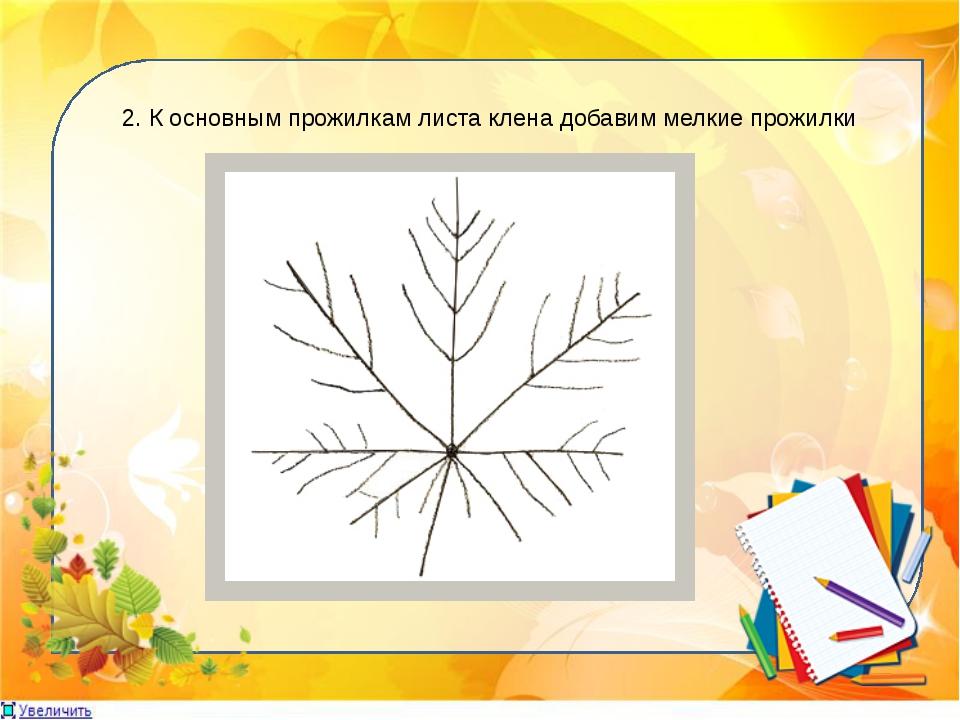 3. Создаём форму листьев клена