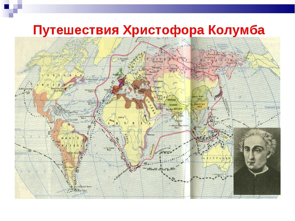 Путешествия Христофора Колумба