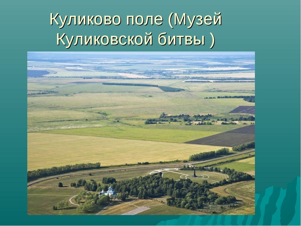 Куликово поле(Музей Куликовской битвы )