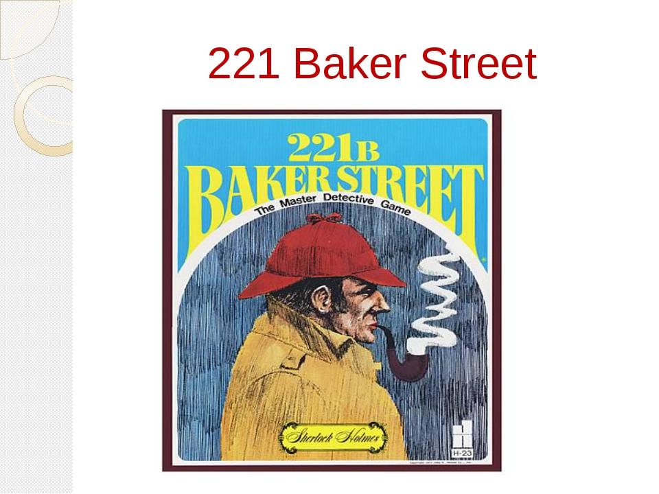 221 Baker Street