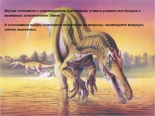 Изучая потомков и современников динозавров, ученые узнают все больше о вымерш