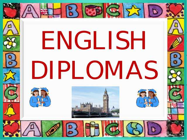 ENGLISH DIPLOMAS