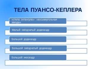 ТЕЛА ПУАНСО-КЕПЛЕРА