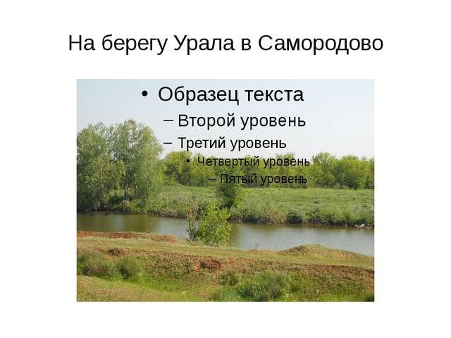 На берегу Урала в Самородово