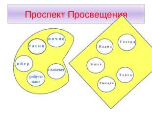 Проспект Просвещения винчиин и н ч и в т а с н и н й е р робути наот славекес
