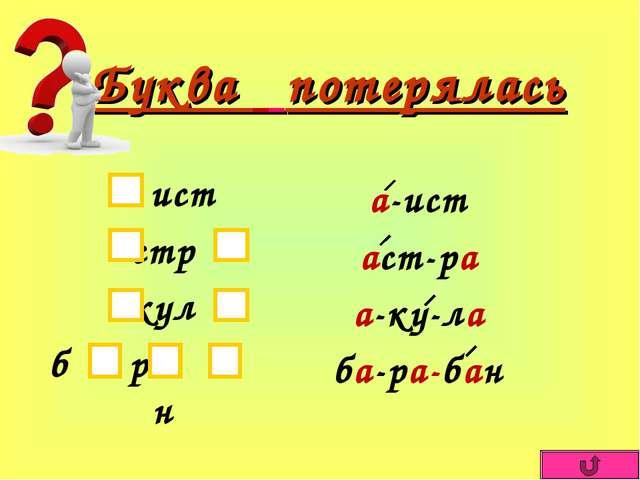 обучение грамоте знакомство со звуком и буквой а