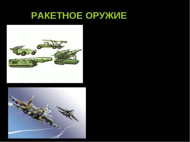 РАКЕТНОЕ ОРУЖИЕ, совокупность различных ракетных комплексов, предназначенных...