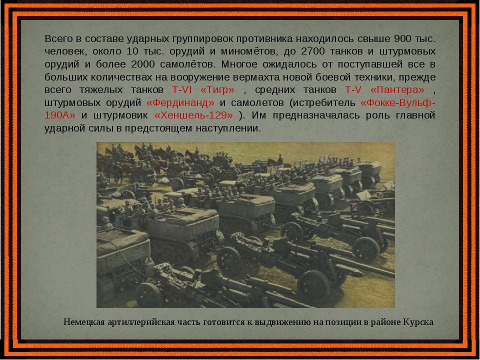 Всего в составе ударных группировок противника находилось свыше 900 тыс. чело...