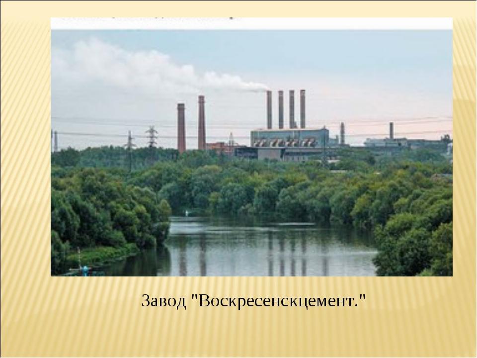 "Завод ""Воскресенскцемент."""