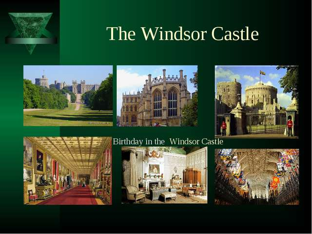 The Windsor Castle Birthday in the Windsor Castle