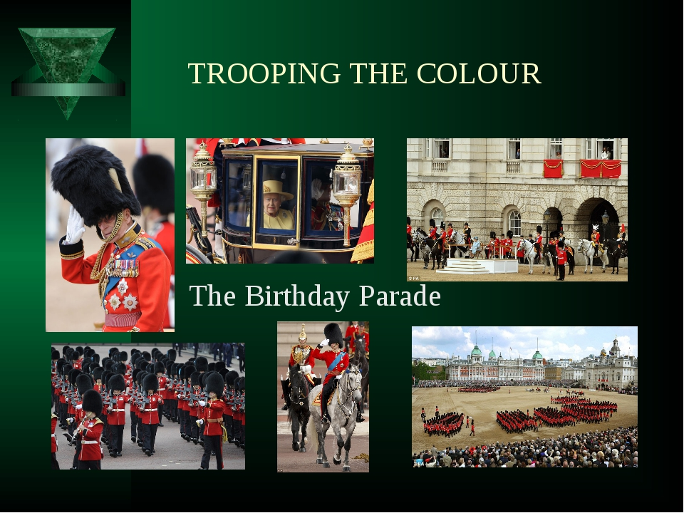 TROOPING THE COLOUR The Birthday Parade
