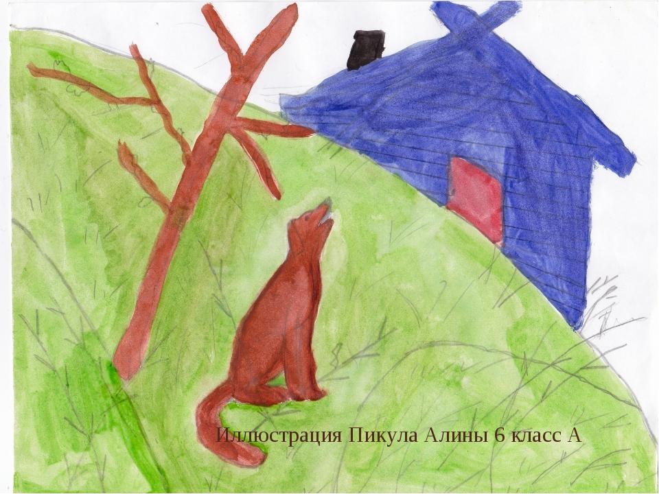 Иллюстрация Пикула Алины 6 класс А