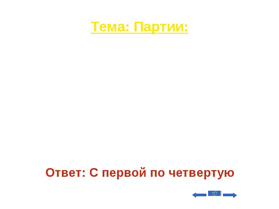 Тема: Партии: Вопрос на 40 Львов Николай Николаевич-политический деятель, уча...