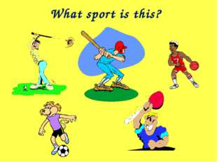 What sport is this?