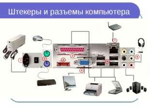 Штекеры и разъемы компьютера