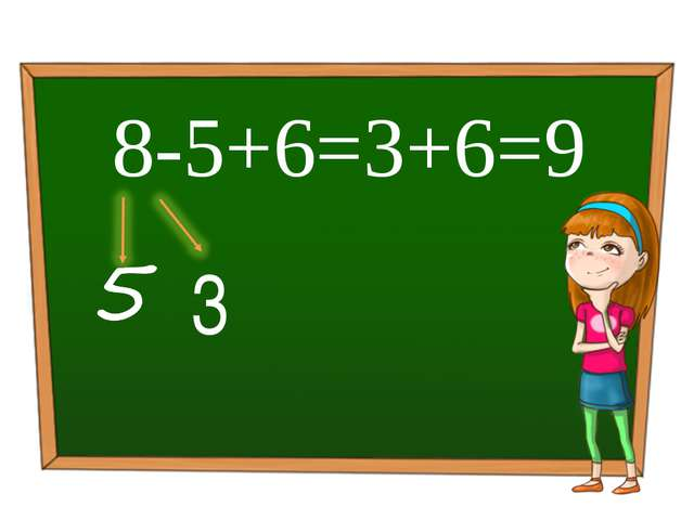8-5+6=3+6=9 3 Обработка и подсчет результатов реализованы с помощью макросов....