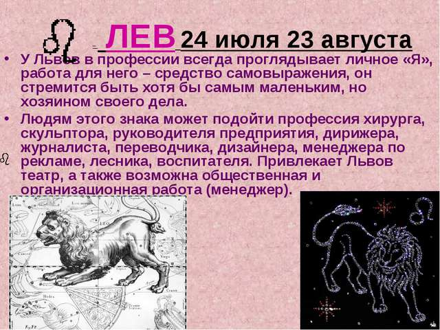 У Львов в профессии всегда проглядывает личное «Я», работа для него – средств...