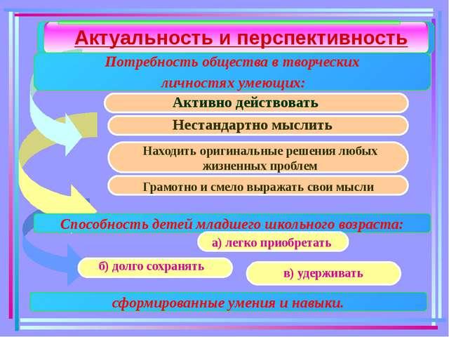 Педагогическая идея опыта: Проектная деятельность как одно из условий систем...