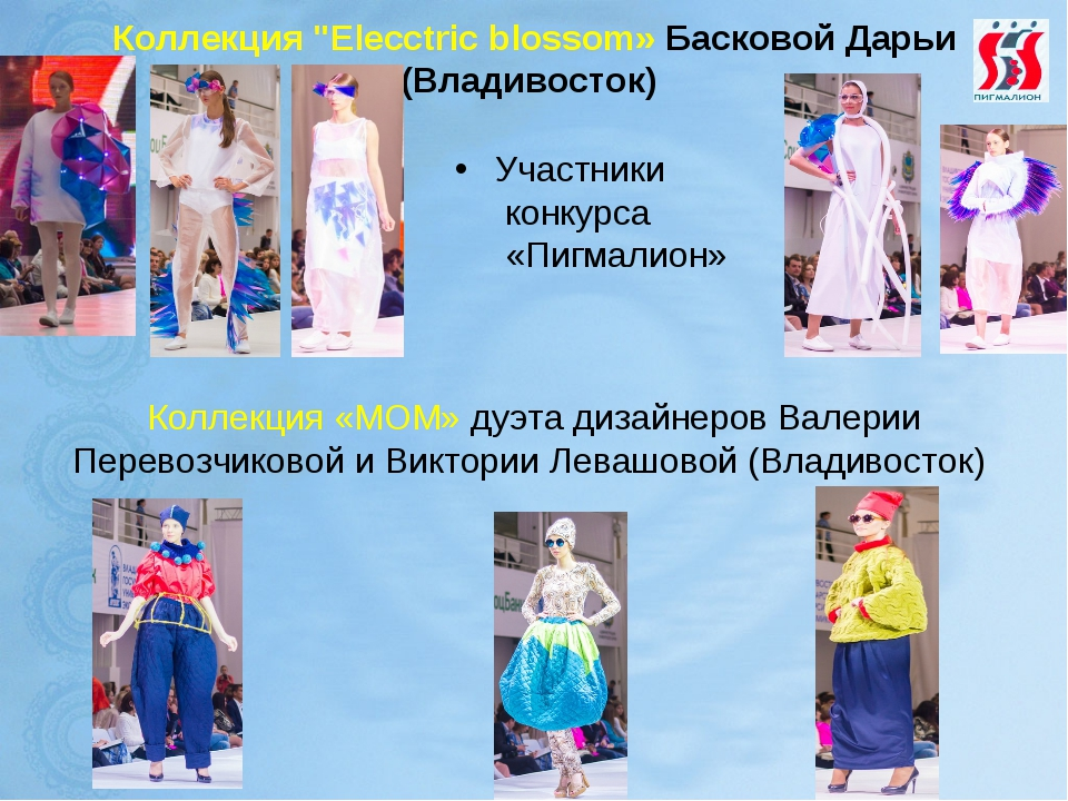 """Коллекция """"Elecctric blossom» Басковой Дарьи (Владивосток) Участники конкурса..."""