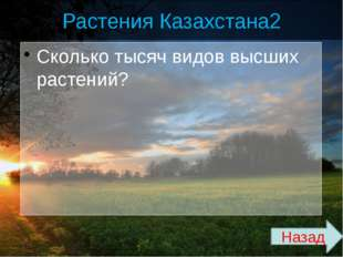 Природные зоны Казахстана 3 Сколько процентов гумуса на севере степной зоны?