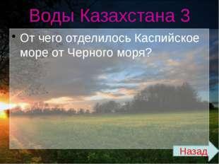 Климат 3 Каково среднегодовое количество осадков на территории Казахстана? На