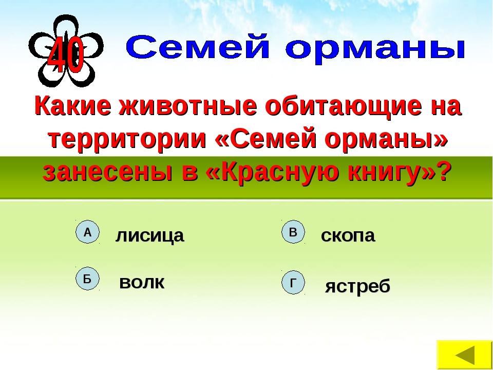 Какие животные обитающие на территории «Семей орманы» занесены в «Красную кни...
