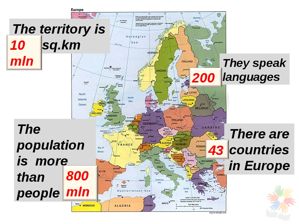 The territory is 	sq.km The population is more than	 people They speak langua...