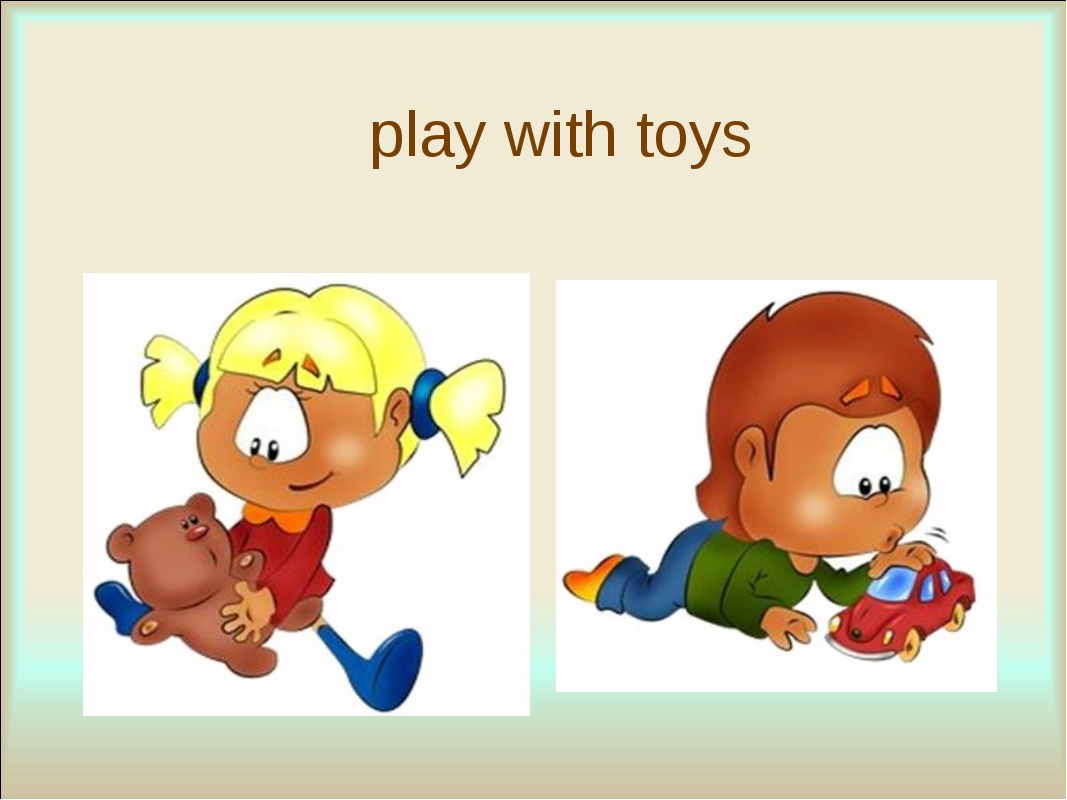 play with toys