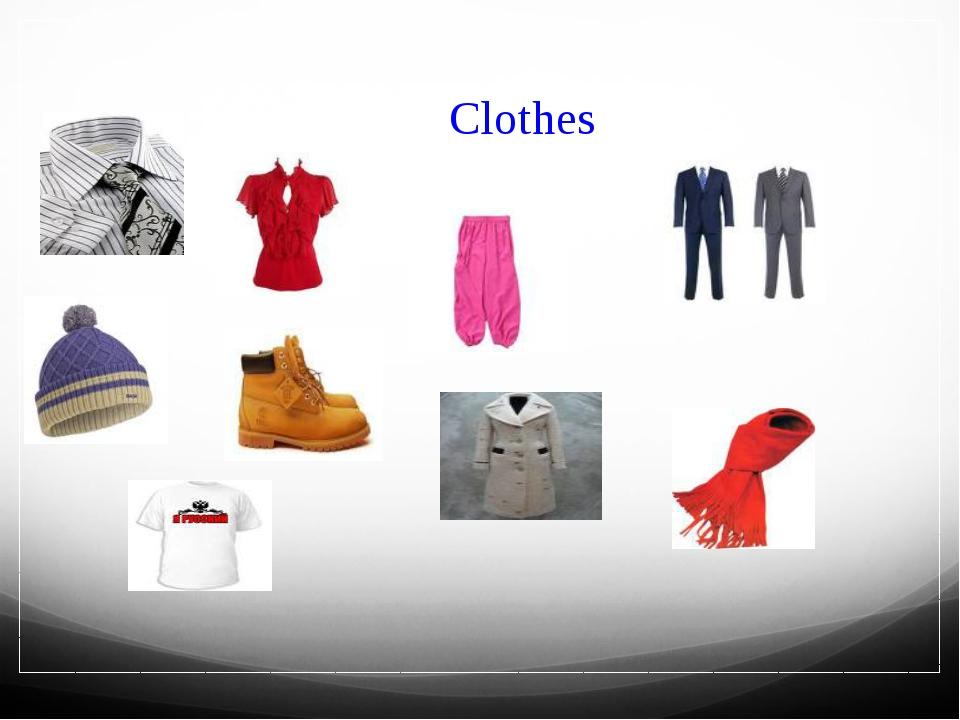 Clothes Заголовок фотоальбома Щелкните, чтобы добавить дату и прочие сведения