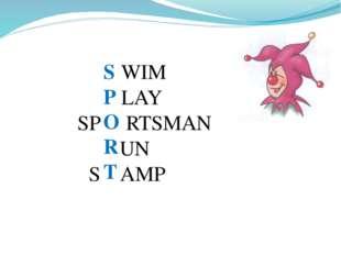 S P O R T WIM LAY SP RTSMAN UN S AMP