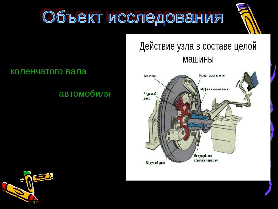 Сцепление служит для временного разобщенияколенчатого валадвигателя с силов...