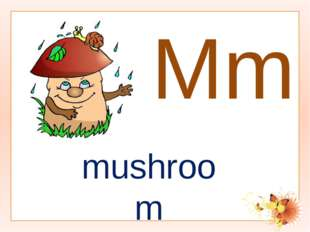 Mm mushroom