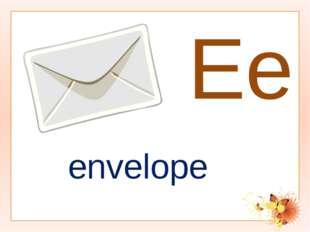 Ee envelope