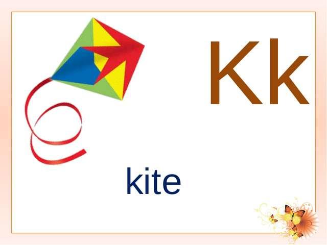 Kk kite