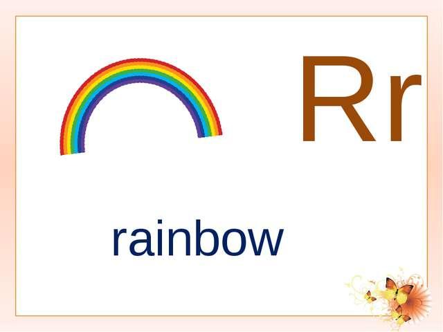 Rr rainbow