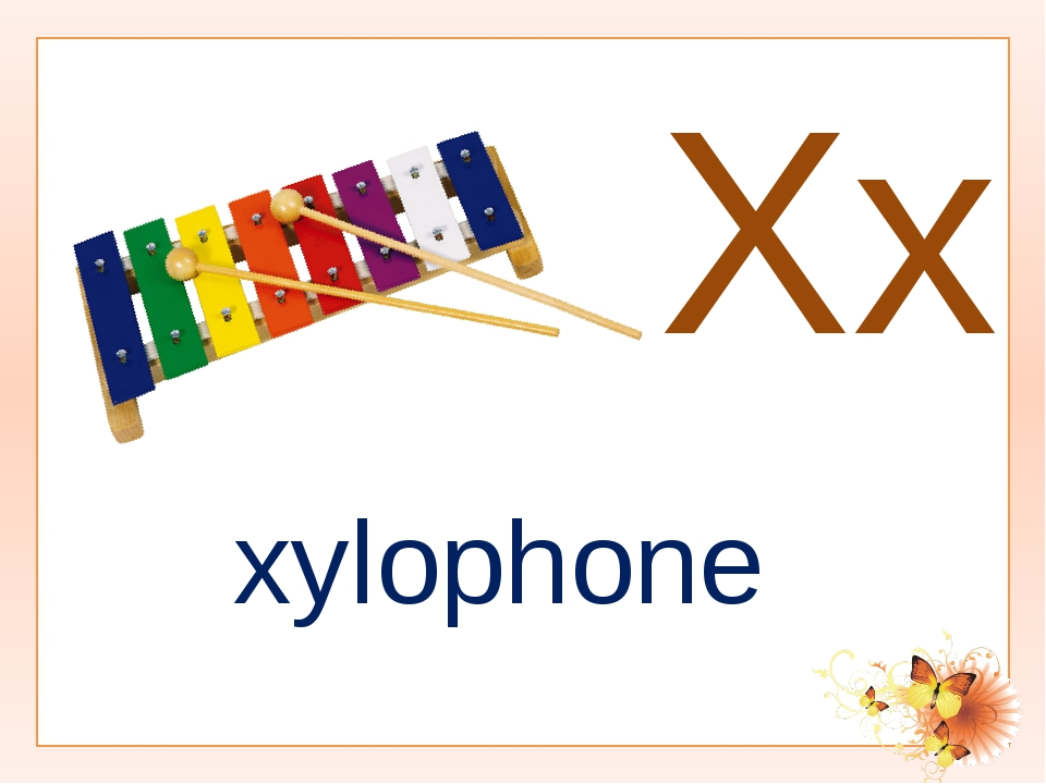 Xx xylophone