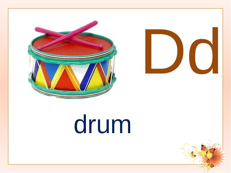 Dd drum