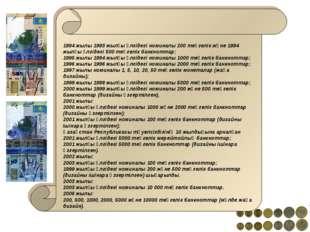 1994 жылы 1993 жылғы үлгідегі номиналы 200 теңгелік және 1994 жылғы үлгідегі