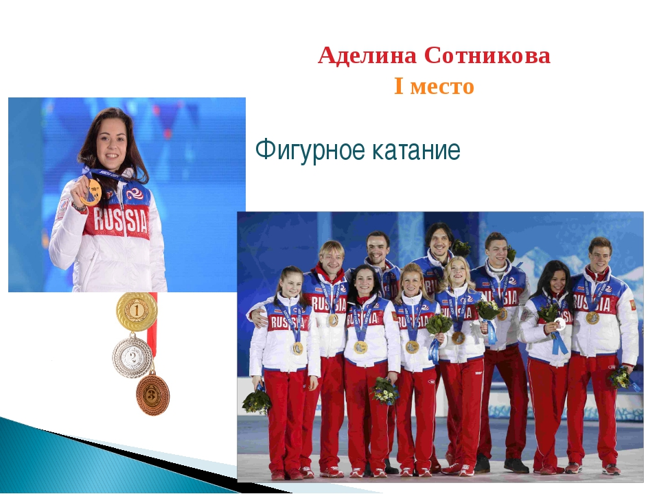 Аделина Сотникова I место Фигурное катание