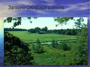 Западно-Сибирская равнина