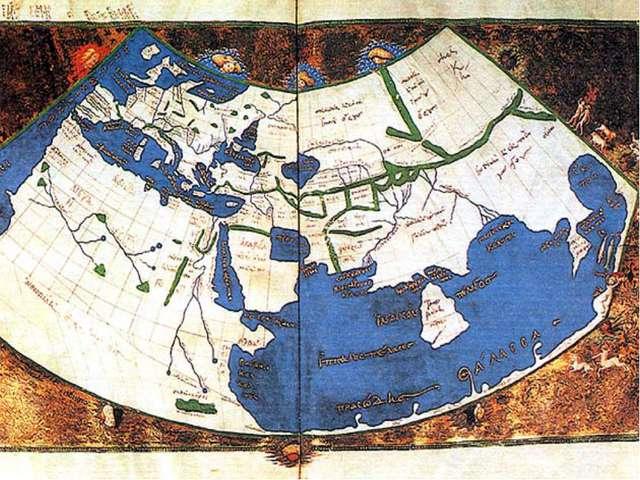 Отцом научной картографии считают древнегреческого географа Птолемея, жившего...
