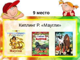 9 место Киплинг Р. «Маугли» scul32.ucoz.ru