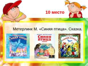 10 место Метерлинк М. «Синяя птица». Сказка. scul32.ucoz.ru