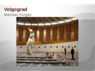 Volgograd Mamaev Kurgan