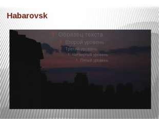 Habarovsk