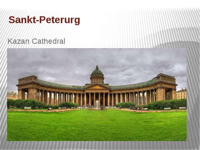 Sankt-Peterurg Kazan Cathedral
