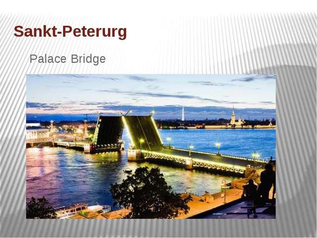 Sankt-Peterurg Palace Bridge