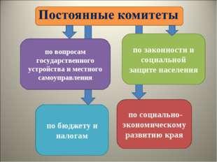 по вопросам государственного устройства и местного самоуправления по бюджету