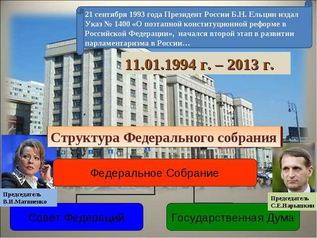 21 сентября 1993 года Президент России Б.Н. Ельцин издал Указ № 1400 «О поэта...